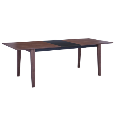 Kiros Extendable Dining Table 1.8 - Walnut, Black - Image 2