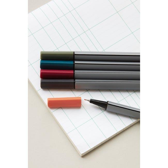 Fineliners Ink Pens (Set of 5) - 1