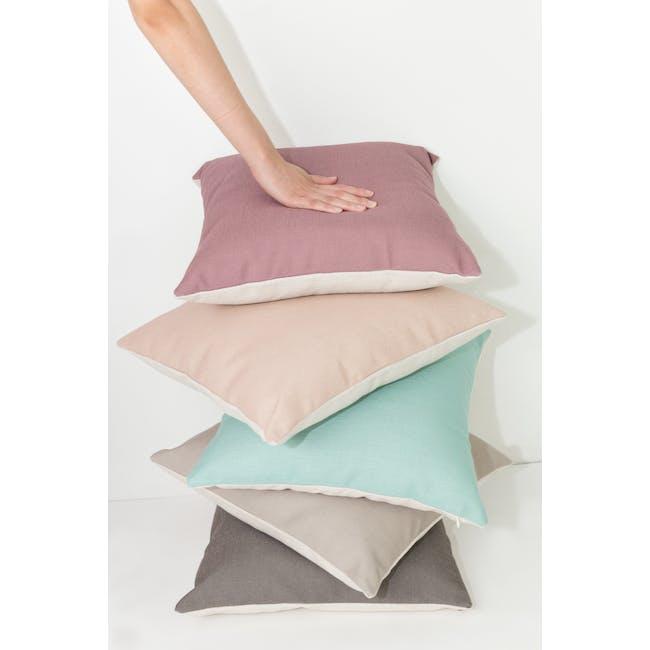 Throw Cushion - Light Grey - 5
