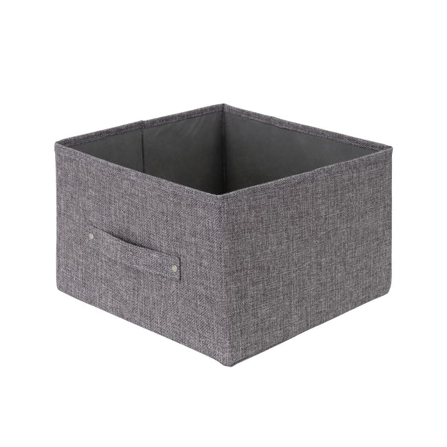 Cindy Storage Case With Handle - Grey - 0