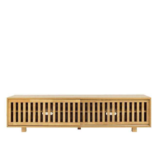 (As-is) Keita TV Console 1.8m - Oak - 7 - 0