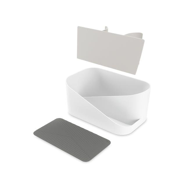 Glam Hair Tool Organiser - White, Grey - 1