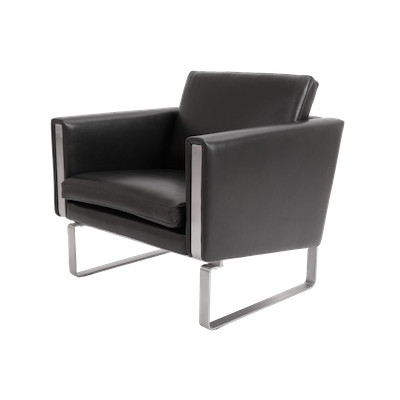 Wegner Ch101 Chair - Italian Leather - Image 1