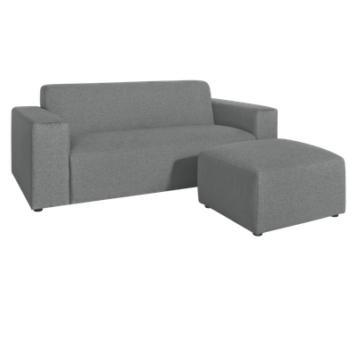 Adam 3 Seater Sofa with Adam Ottoman - Image 1