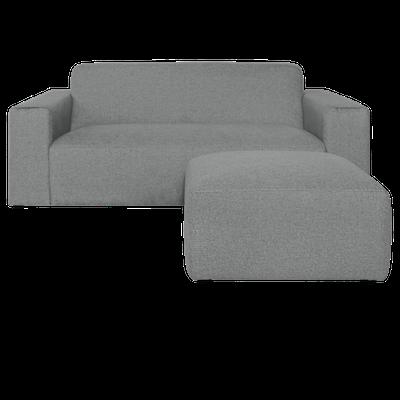 Adam 3 Seater Sofa with Adam Ottoman - Image 2