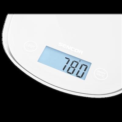 SENCOR Pastels Kitchen Scale - White - Image 2