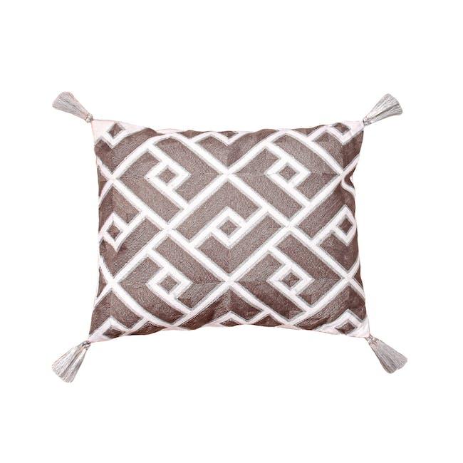 Union Square Lumbar Throw Cushion - 0