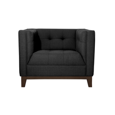 Atwood Armchair- Dark Grey Cashmere - Image 1