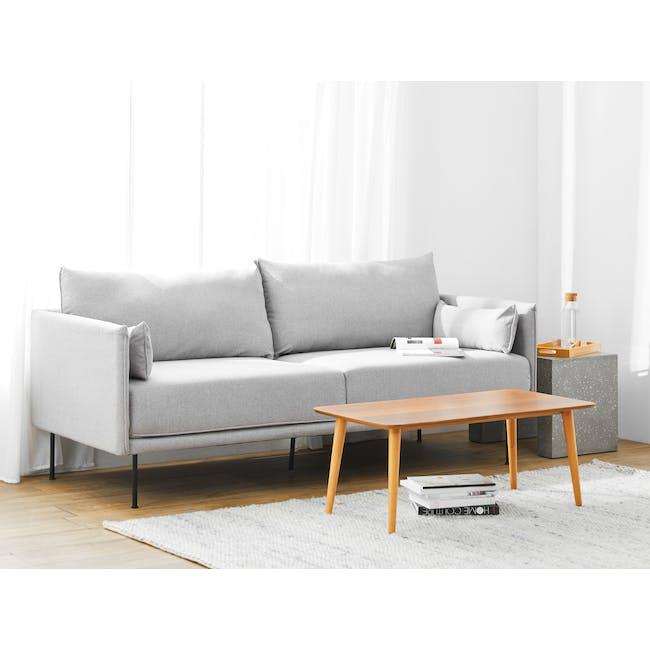 Emerson 3 Seater Sofa - Slate - 1