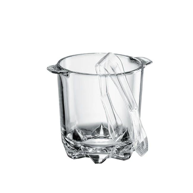 Polka Ice Bucket with Tongs - 0