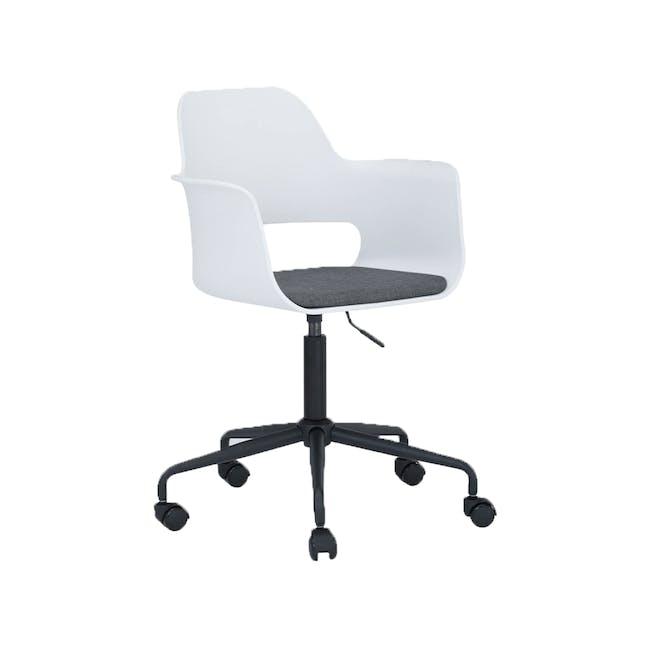 Denver Swivel Chair - White - 1