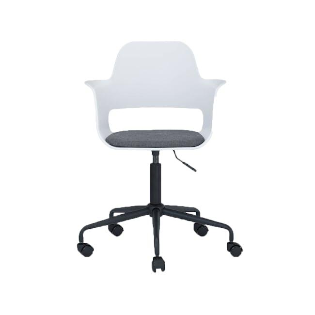 Denver Swivel Chair - White - 0