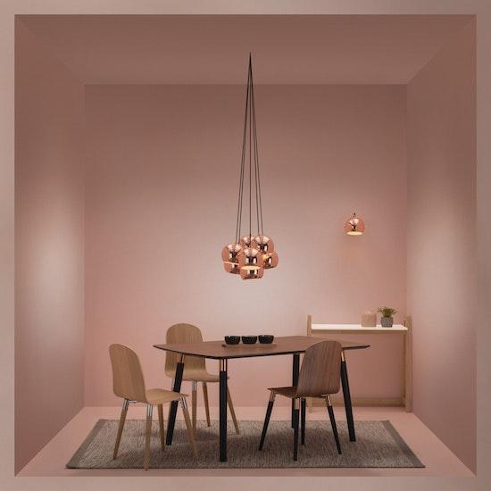 c7fb7507504 Slug Pendant Lamp (Set of 7) - Copper