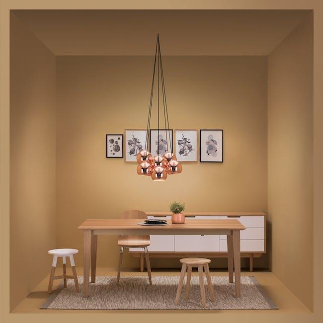Slug Pendant Lamp (Set of 7) - Copper - 1