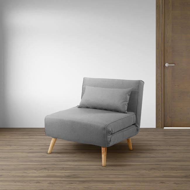 Noel Sofa Bed - Harbour Grey - 1