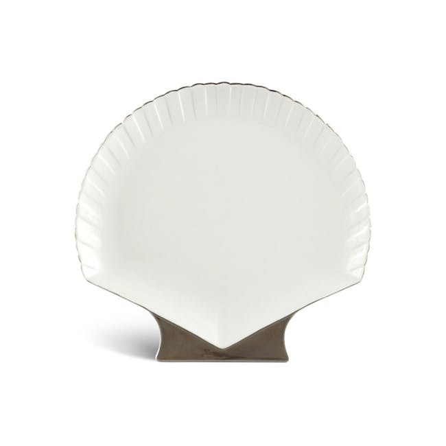 Fish & Clam Shell-Shaped Plate - 0