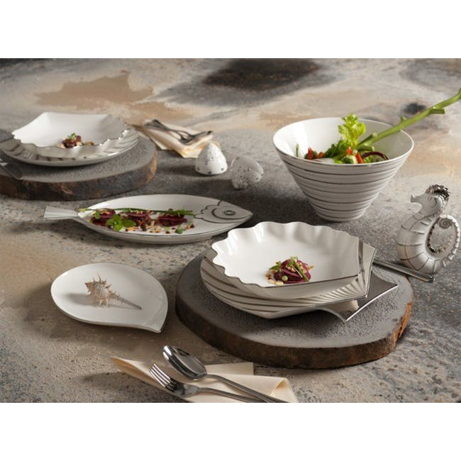 Fish & Clam Shell-Shaped Plate - 1