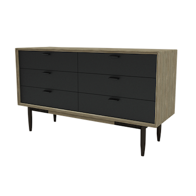 Starck 6 Drawer Chest 1.4m - Image 1