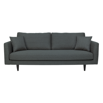 Colin 3 Seater Sofa - Dark Grey - Image 1
