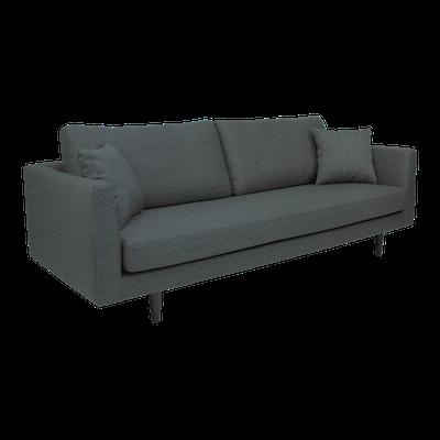Colin 3 Seater Sofa - Dark Grey - Image 2