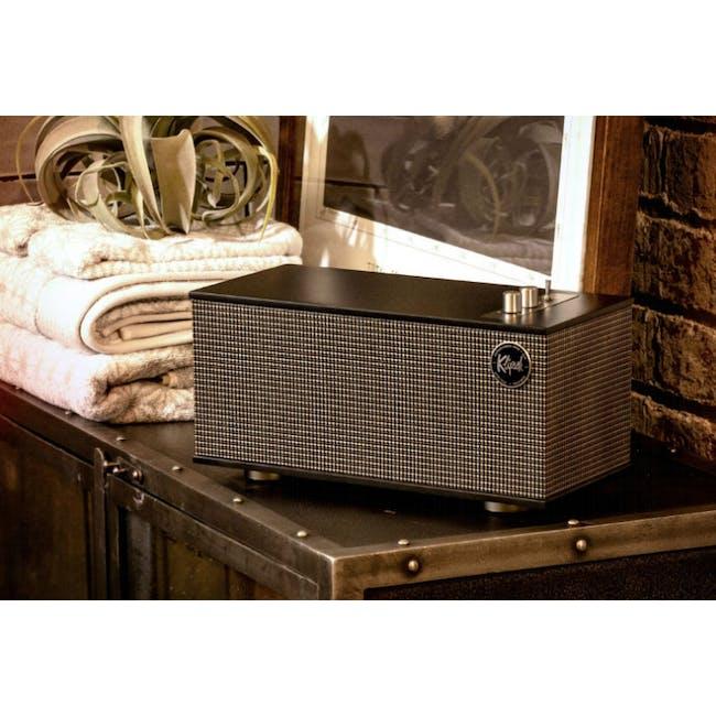 Klipsch The Three II Heritage Bluetooth Speaker - Matte Black - 1