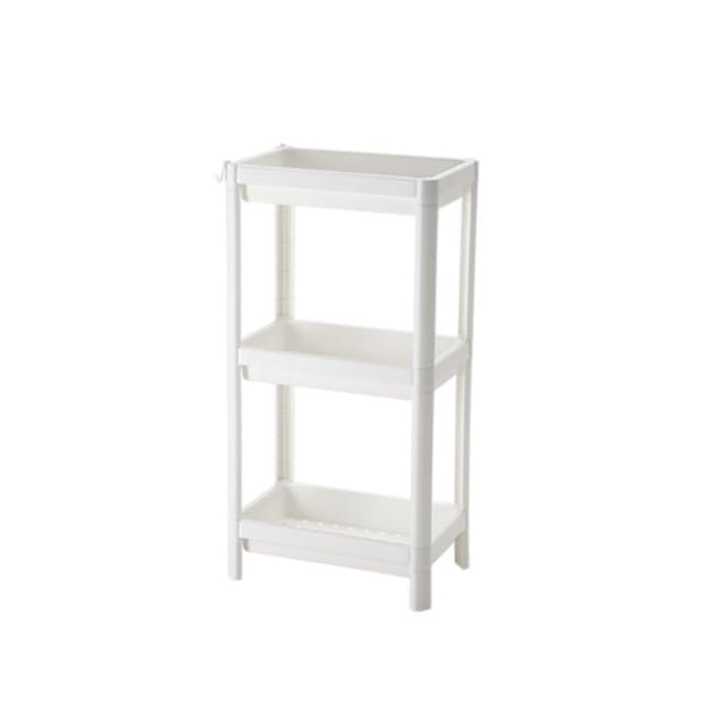 Tessa 3 Tier Storage - White - 0