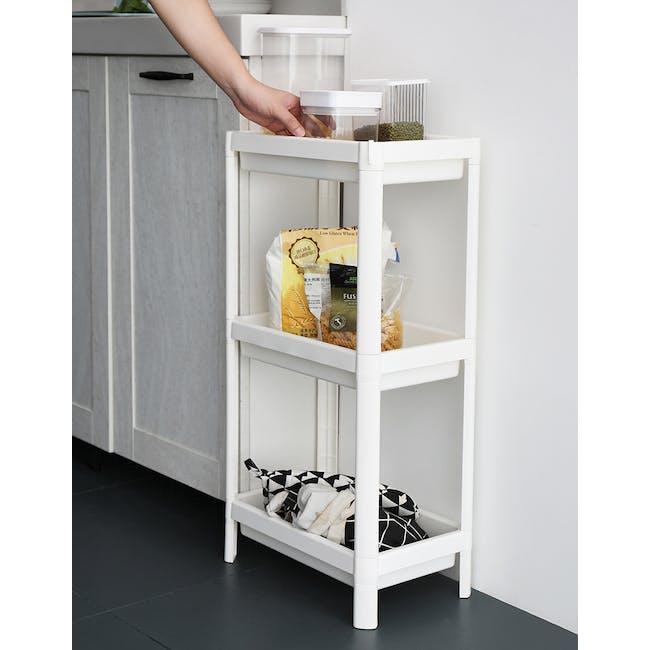 Tessa 3 Tier Storage - White - 5