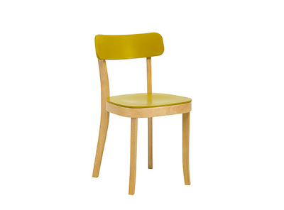 Stockholm Chair - Natural, Olive Yellow