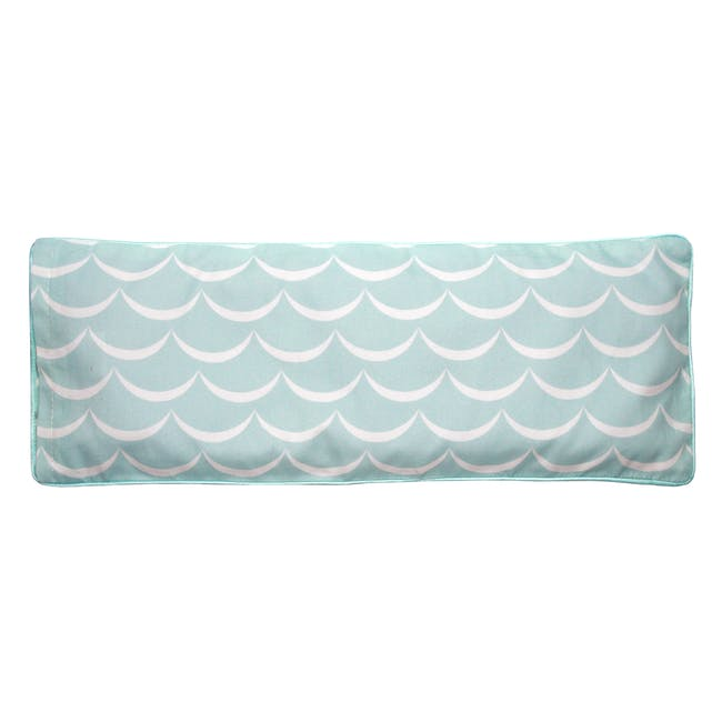 Baby Woodland Snuggy Beansprout Husk Pillow - Icy Mint (Organic Cotton) - 1