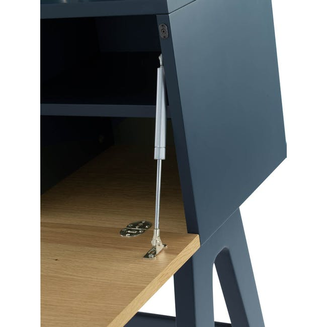 Valen Study Table - Space Blue - 5