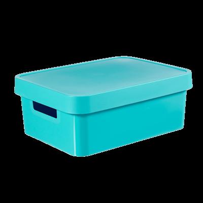 Infinity Box + Lid - Blue - Image 1