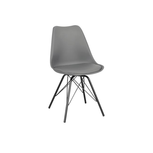 Axel Chair - Black, Grey - 0
