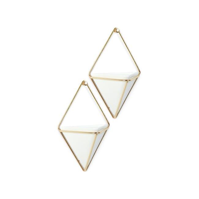 Trigg Small Wall Vessel (Set of 2) - Brass - 2