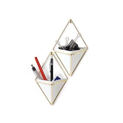 Trigg Small Wall Vessel - Brass - Image 2