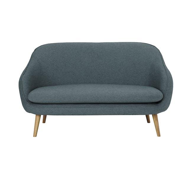 Quinn 2 Seater Sofa - Marble Blue - 0