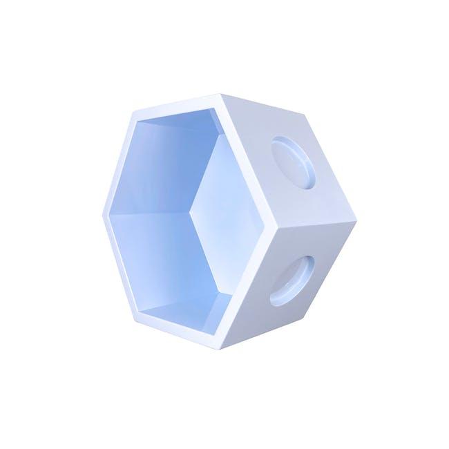 Acacia Block - Pastel Blue - 5