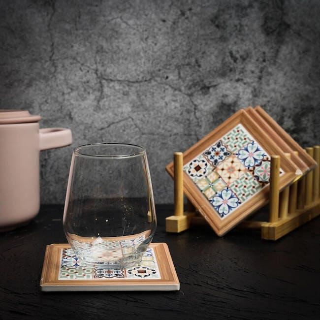 Peranakan Ceramic Cup Coaster - Lyla - 1