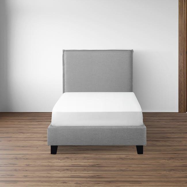 Hank Single Bed - Silver Fox - 1