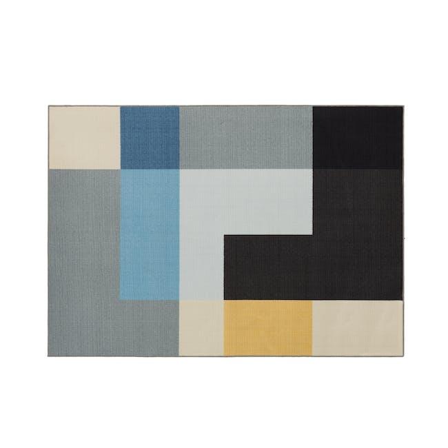 Alexander Low Pile Rug 1.7m x 1.2m - Blocks - 0