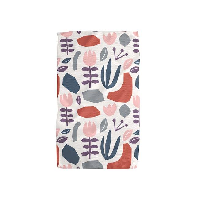 Geometry Tea Towel - Tulips - 0