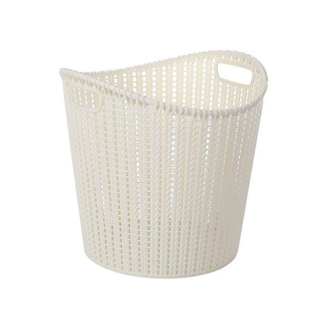 Alice Laundry Basket - White - 0