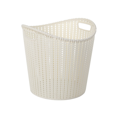 Alice Laundry Basket - White - Image 1