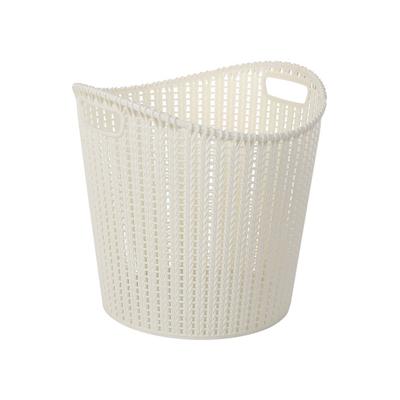Alice Laundry Basket - White - Image 2