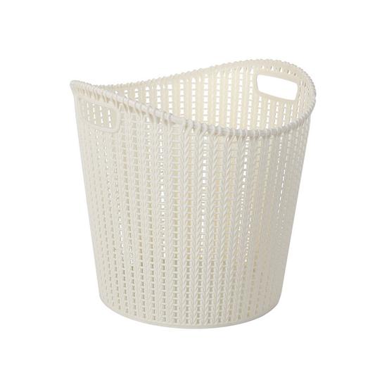 1688 - Alice Laundry Basket - White