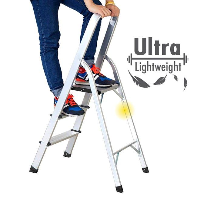 Aluminium 5 Tier Ladder - 1