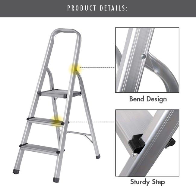 Aluminium 5 Tier Ladder - 2