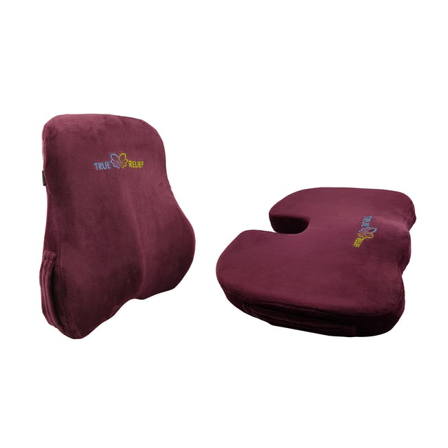 True Relief Back Care Combo Value Set -  Wine Red - 0
