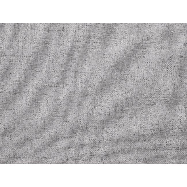 Hana 3 Seater Sofa- Light Grey - 10