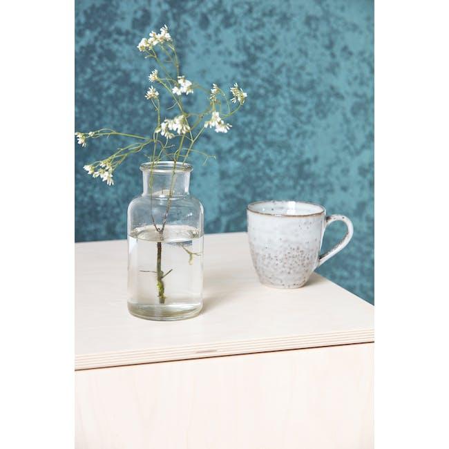 Jare Short Vase - Clear - 1
