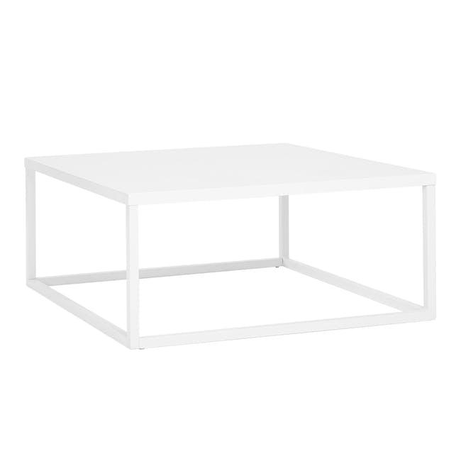 Dachi Coffee Table - Matte White - 0